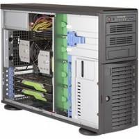 """Barebone Server 4 U/Tower Dual 3647; 8 Hot-swap 3.5""""; 1200W Redundant Platinum; SuperWorkstation 7049A-T"""