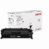 TON Xerox Black Toner Cartridge equivalent to HP 05A for use in LaserJet P2035, P2055; Canon imageCLASS LBP251, LBP253, LBP6300,