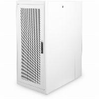 """Serverschrank freistehend 19"""" 26HE Digitus 1260x600x1000 mm, Farbe Grau (RAL 7035), einzelne perforierte Fronttür"""