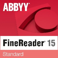 ABBYY FineReader 15 Standard - 1 User, perpetual - ESD-Download ESD