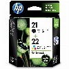 TIN HP # 21 +22 SD367AE 2-Pack black
