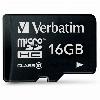 16GB Verbatim Premium MicroSDHC 80MB/s