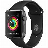 Apple Watch Series 3 GPS, 42mm Space Grey Aluminiu