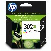 TIN HP # 302 XL color (cyan, magenta, yellow)