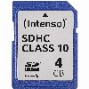SDHC 4GB Intenso C10 40MB/s