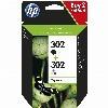 TIN HP # 302 2er Pack Black / Color
