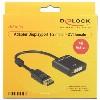 Displayport Adapter DP St > DVI 24+5 Bu Delock